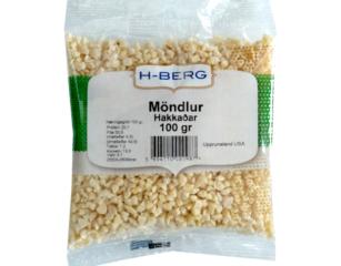 Möndlur – hakkaðar