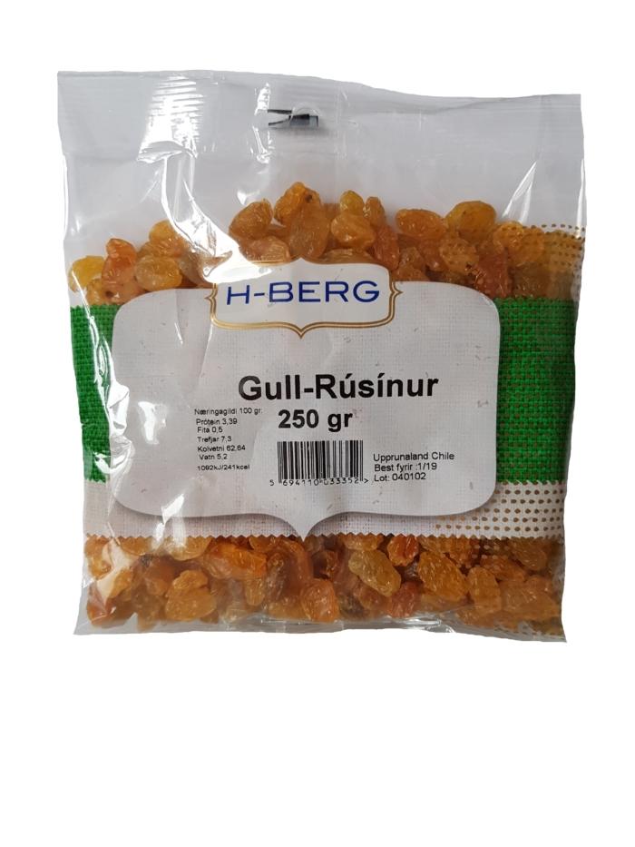 Gull-Rúsínur
