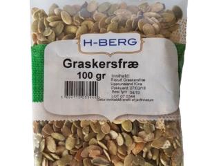 Graskersfræ