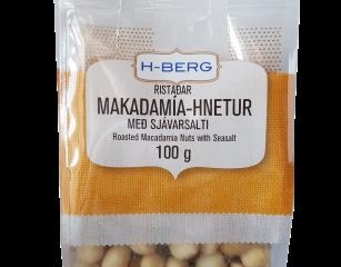 Makadamía hnetur – ristaðar með sjávarsalti
